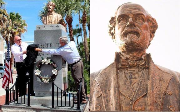 Confederate Gen. Robert E. Lee Memorial in Fort Myers