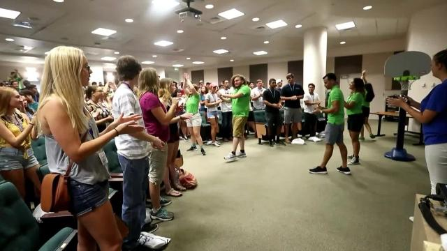 Here is how Florida Gulf Coast University students get ready for the school year.