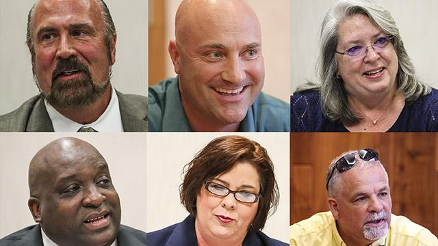 Cape Coral mayoral candidates talked with the News-Press editorial board about why they want the position and what their top priority will be if elected.