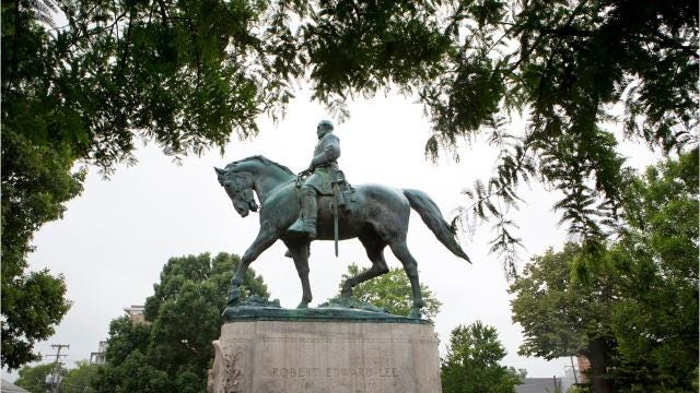 The white nationalist rally in Charlottesville was in part ignited by the city's plan to begin taking down, a statue memorializing Confederate general Robert E. Lee. In cities all over the U.S. efforts to remove similar type monuments is becoming common place. In Baltimore that city began removing its Confederate monuments. Gainesville, Florida, , and Lexington Kentucky have also joined the the ranks of city leaders taking a stand against the history behind such monuments.