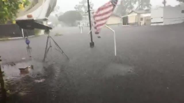Flooding at RV park in south Fort Myers