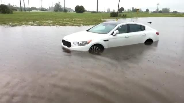 Flooding in Cape Coral
