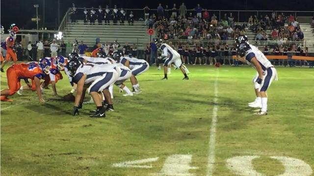 Highlights of Estero at Cape Coral high school football