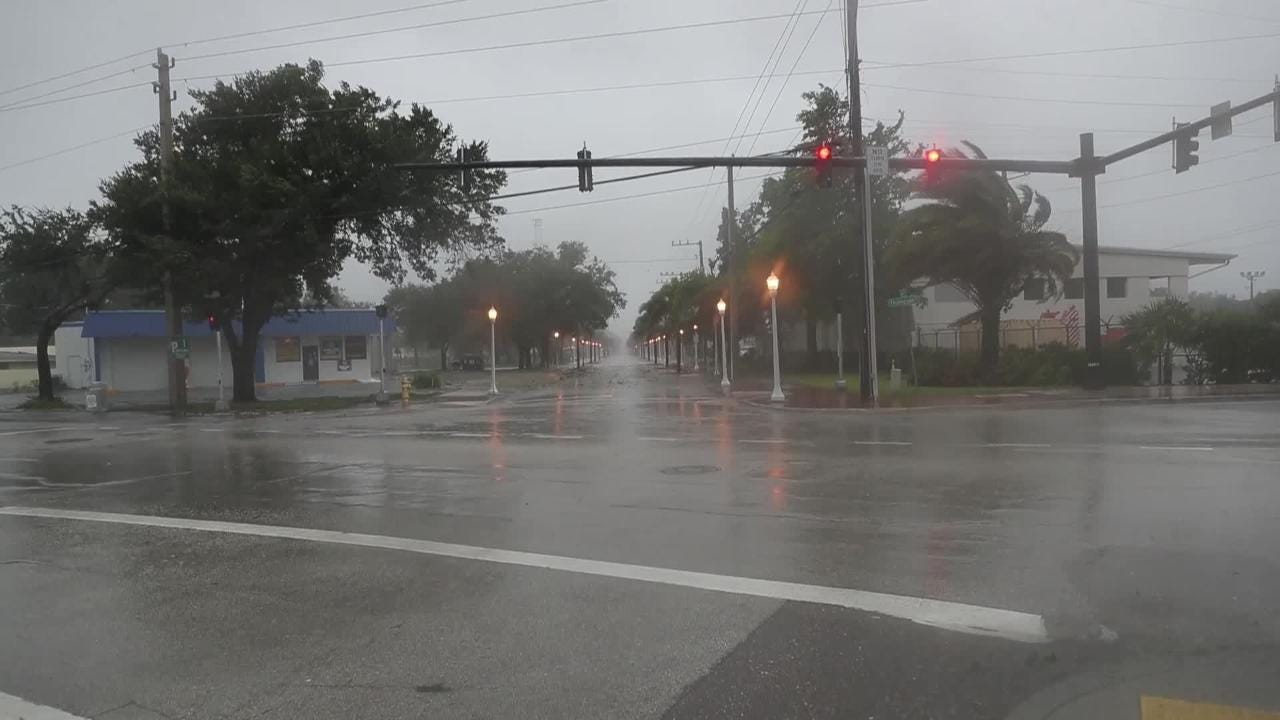 Hurricane Irma visits Fort Myers Beach and downtown Fort Myers