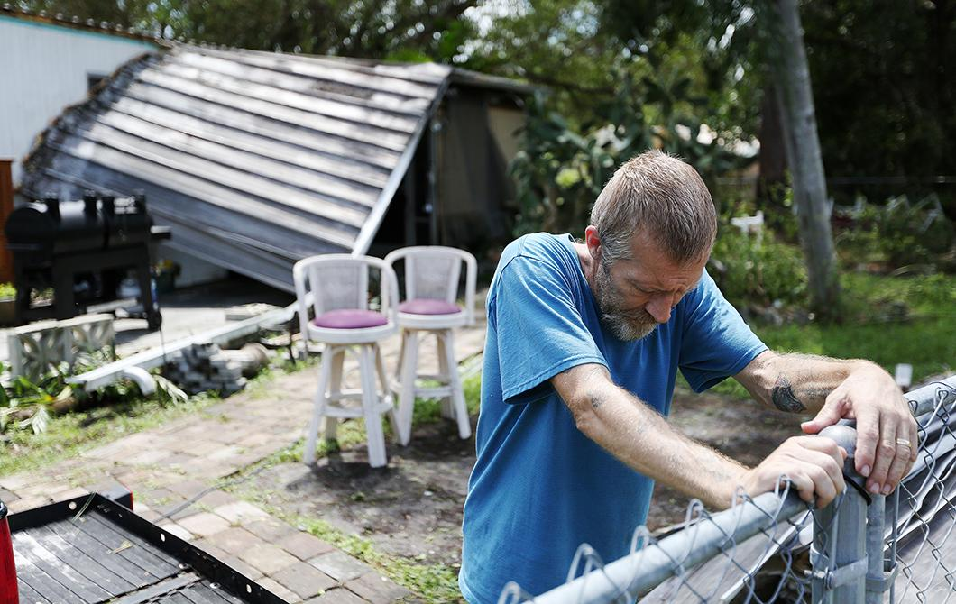 Hurricane Irma breaks struggling community