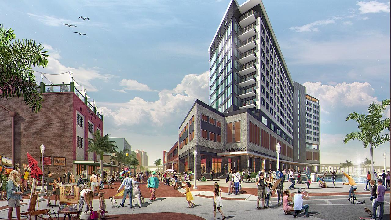 Luminary Hotel breaks ground in downtown Fort Myers