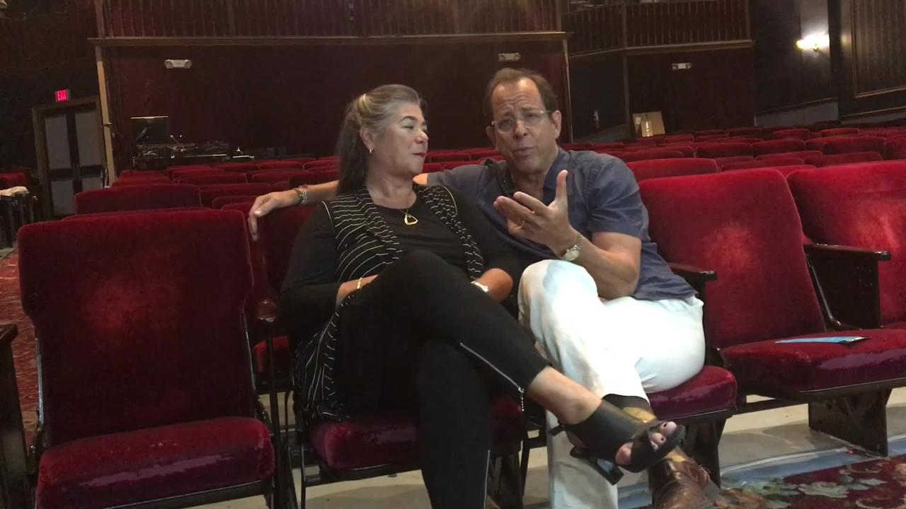 In 2017, Robert Cacioppo and his wife Carrie Lund talked about starting Florida Repertory Theatre 20 years ago. Cacioppo was fired April 5 as director of the theater for bullying and anger management issues. He denies many of the charges.
