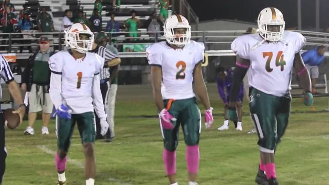 Dunbar bounced back from a loss to Immokalee with a 54-8 win over Mariner on Friday on the road.