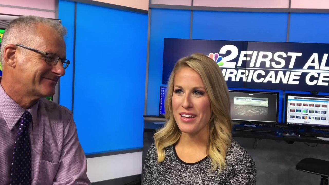 NBC-2 meteorologist Robert Van Winkle to retire, Allyson Rae to replace