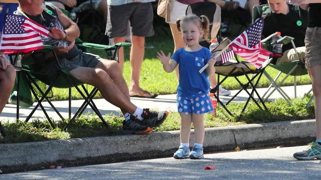 Cape Coral celebrates Veterans Day with parade