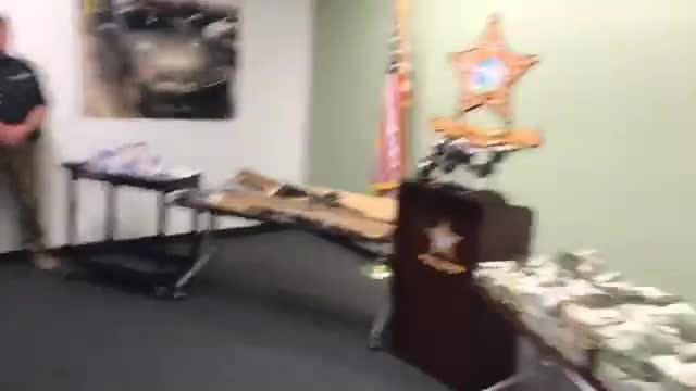 Watch the Facebook Live recording. Lee County Sheriff's Office seizes $1 million in cash from major opioid bust