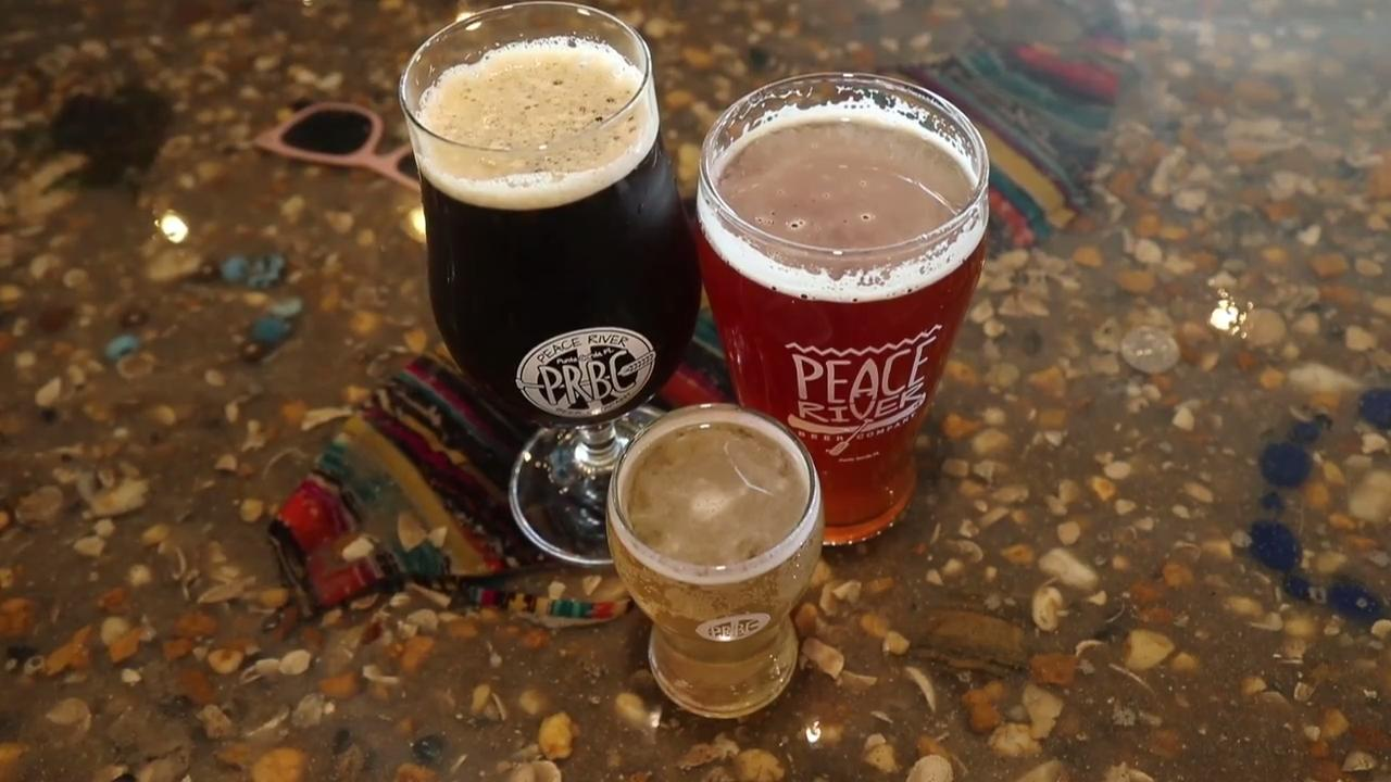 Behind the Brewery- Peace River Beer Company in Punta Gorda