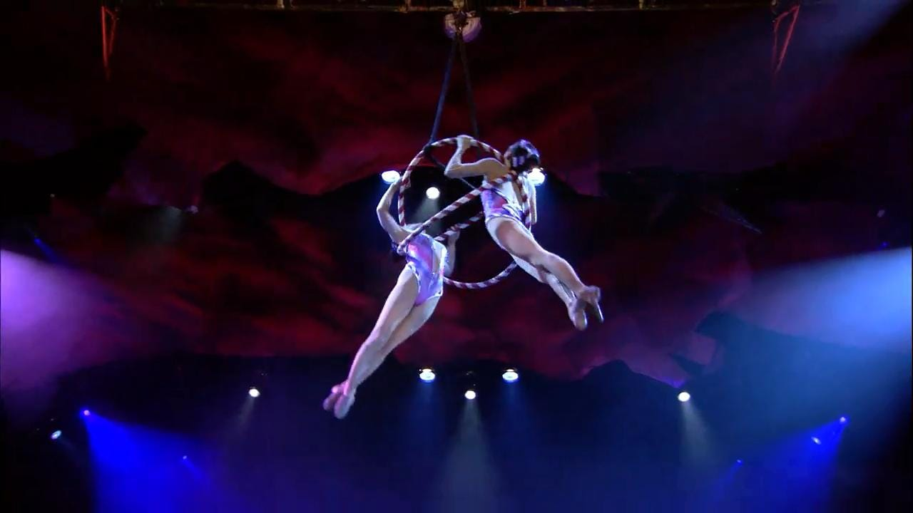 Watch the promotional video for 'Cirque Dreams Holidaze.' The holiday circus show plays Friday and Saturday at Barbara B. Mann Performing Arts Hall in south Fort Myers.