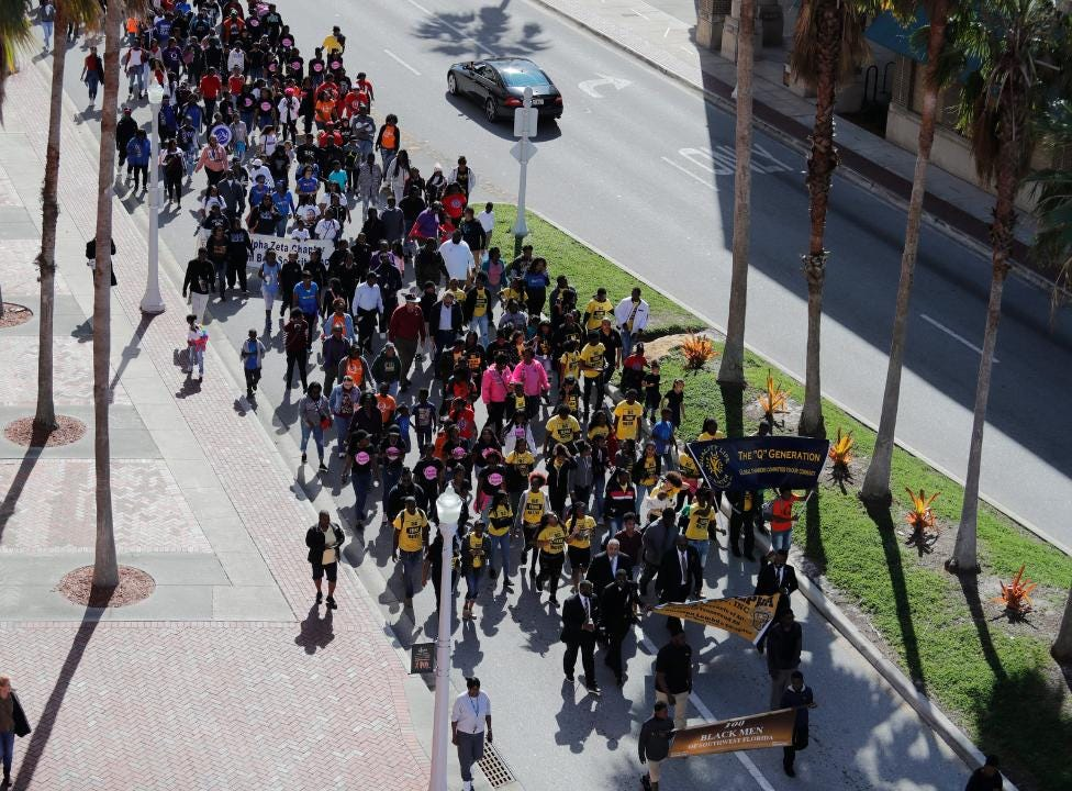 Lee County marches in honor of Dr. Martin Luther King Jr.