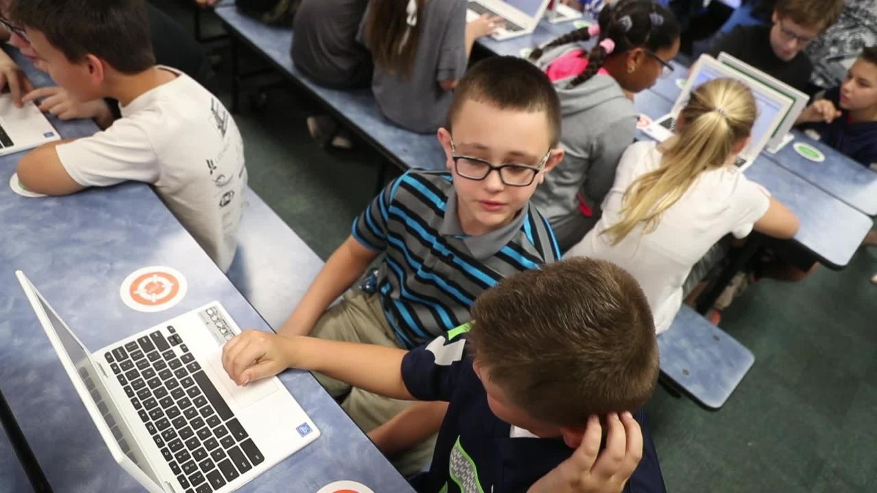 Cape Coral students get computer coding lessons from Google. Gulf Elementary School students learn skills from digital behemoth