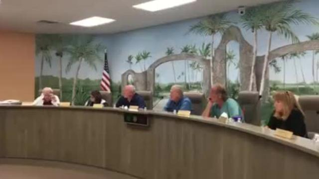Fort Myers Beach resident Betty Lou Yax shares her biggest concern about TPI Hospitality's plan to redevelop a portion of blighted Beach commercial property into a resort hotel with many amenities. Video by Laura Ruane of The News-Press