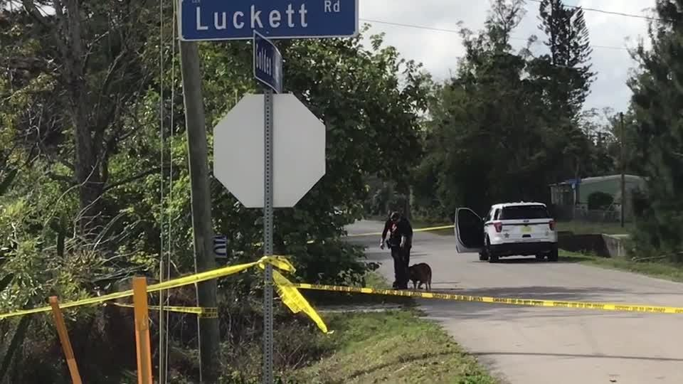 Homicide investigation at home on Luckett Road
