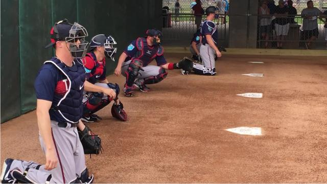 The Minnesota Twins' picthers and catchers held their first official workout of 2018 at The CentiryLink Sports Complex on Wednesday, Feb. 14.