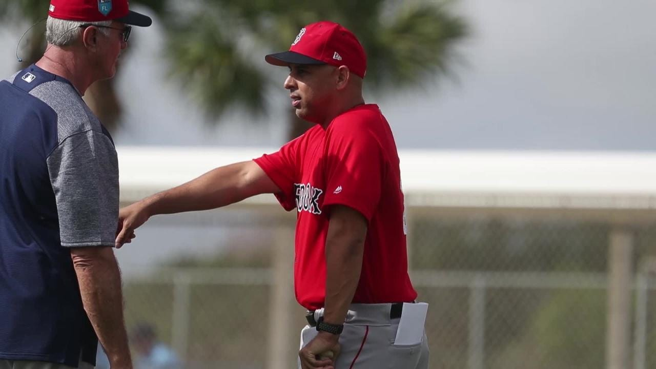 Pitchers and catchers for the Boston Red Sox and Minnesota Twins report to camp Wednesday. Full rosters will report Friday