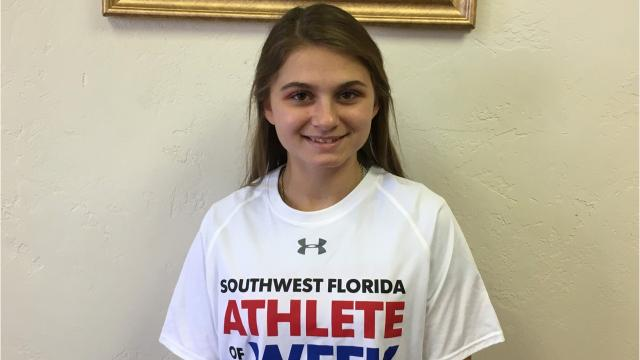 The North Fort Myers High senior soccer player marked Mariner's Taylor Yount, keeping her off the board in the Red Knights' 1-0 region semifinal win over the Tritons, to earn The News-Press Athlete of the Week for Feb. 5-10.
