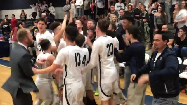 Oasis beat Community School of Naples 71-60 for its first boys basketball district title.