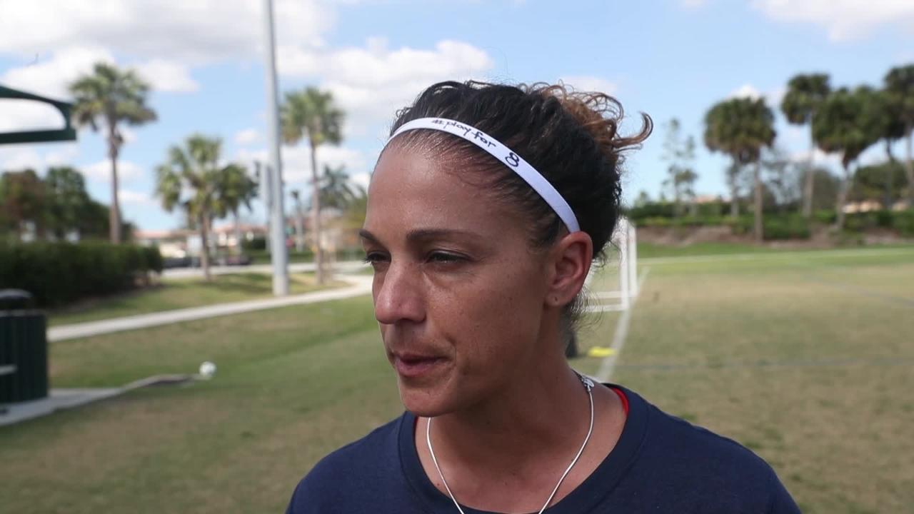 Video: Parkland Soccer Club grieves over teammate Alyssa Alhadeff