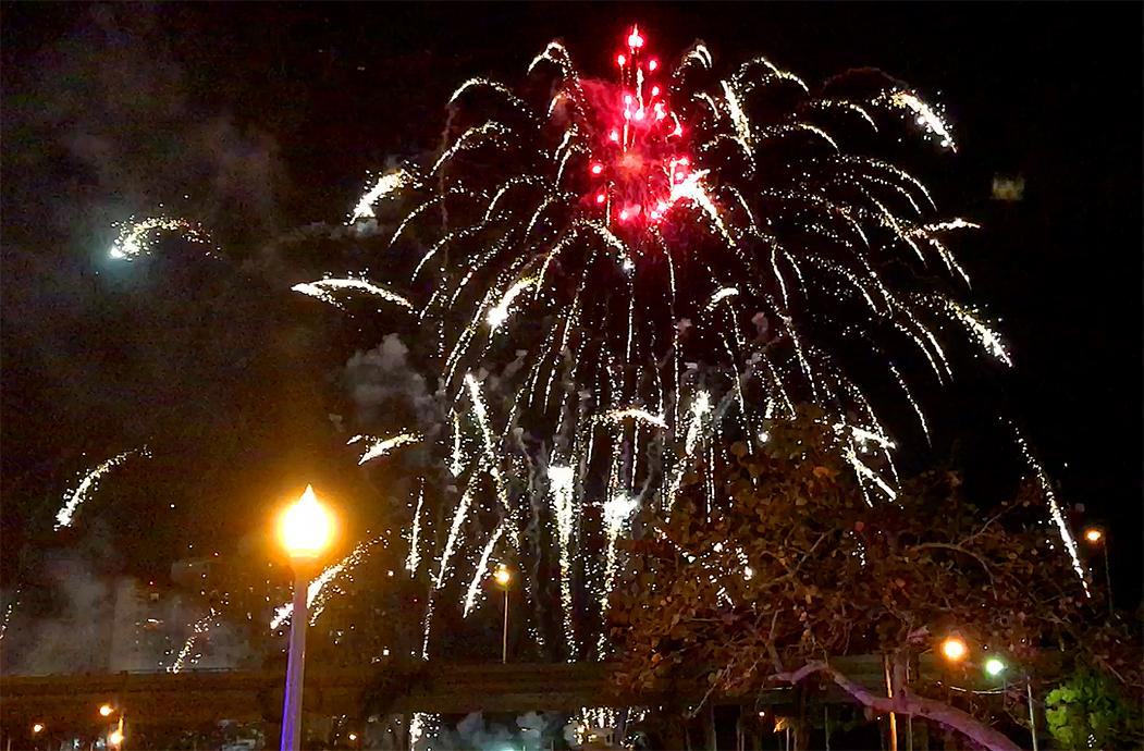 The Edison Festival of Light firework show lights up downtown Fort Myers on Saturday after the grand parade. Go to news-press.com to see complete coverage to include photo galleries and video.