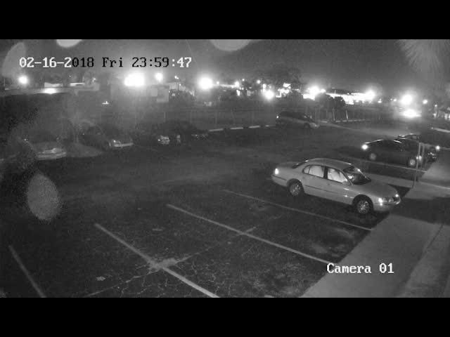 A video of the suspect in the Central Avenue shooting. FMPD is seeking tips from the public if anyone recognizes the suspect or the camouflage style clothing he was wearing.