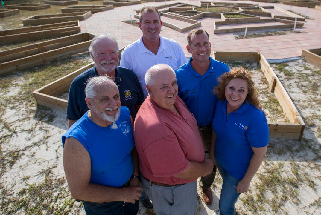 The three Rotary clubs of Cape Coral are working on creating a community garden at city hall. We explore the project and its status.
