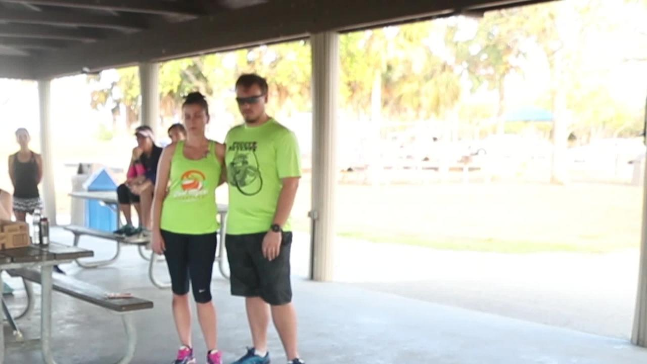The run coincided with the Parkland's Run 4 Beigel in Parkland, Florida. Beigel was a teacher and coach that was killed at Marjory Stoneman Douglas High School shooting.