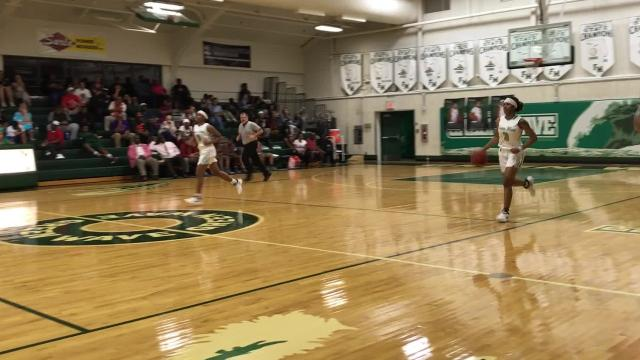 Chaniya Clark's 18 points led Fort Myers to a 75-43 regional semifinal win over Dunbar on Tuesday.