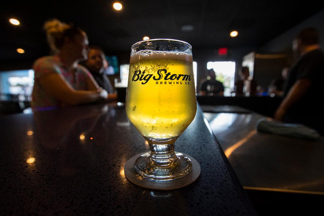 Top 3 best-selling beers of Big Storm Brewing. The company is based in Clearwater, and has opened its first SWFL taproom and craft brewery in the old Cape Coral Brewing Co. space.