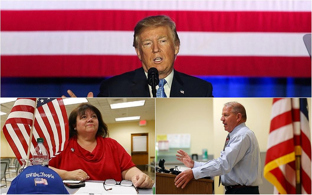 The Southwest Florida chapter of Citizens for Trump met recently at the South County Regional Library in Estero, Florida in support of President Donald Trump and to discuss immigration, guns, liberals, the NFL and economic concerns.