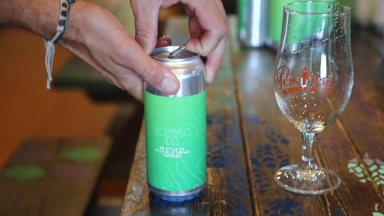 Point Ybel Brewing Co. released a new beer infused with cannabis terpenes called SOWFLO IPA.