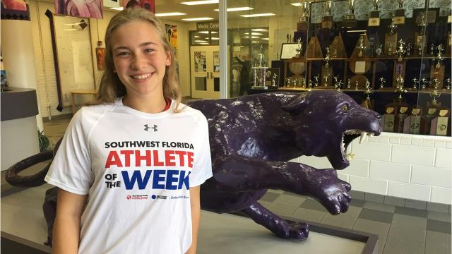 Cypress Lake lacrosse player Laura MacDiarmid won The Second Chance Athlete of the Week poll, which consisted of the Top 10 second-place finishers based on vote totals throughout the season getting one final opportunity to win the vote.