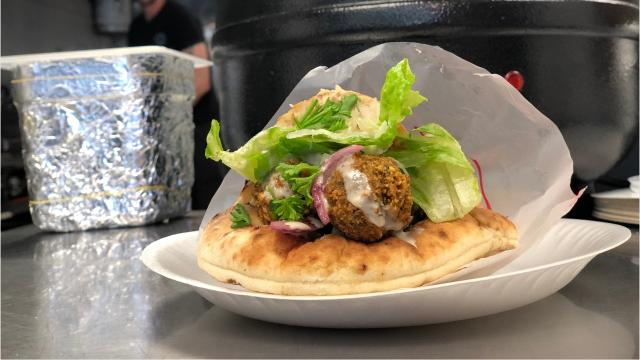 WikiPita is a new sandwich shop at 3940 Metro Parkway featuring spices and pitas imported from Israel. (Video by Grace Speas/The News-Press)
