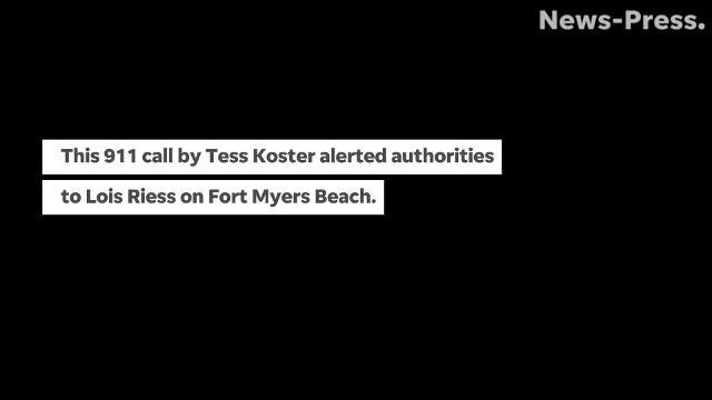 On April 2, Tess Koster, dialed 911. She told the call taker that she had seen Lois Riess outside of her home on Fort Myers Beach. (Megan Kearney/The News-Press)