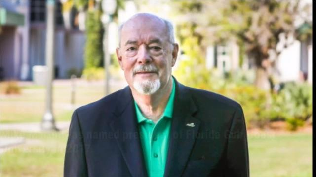 Mike Martin took over as Florida Gulf Coast University's president a year ago this month. He is the fourth president in school history.