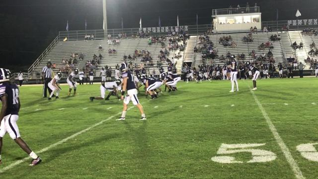 Panther running back Chris Joesph went wild, scoring four touchdowns as Cypress Lake gave Mariner their first loss of the season with a 44-34 victory.