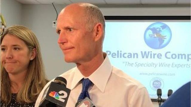 Gov. Rick Scott brought jobs to Florida, but there's still work to be done.
