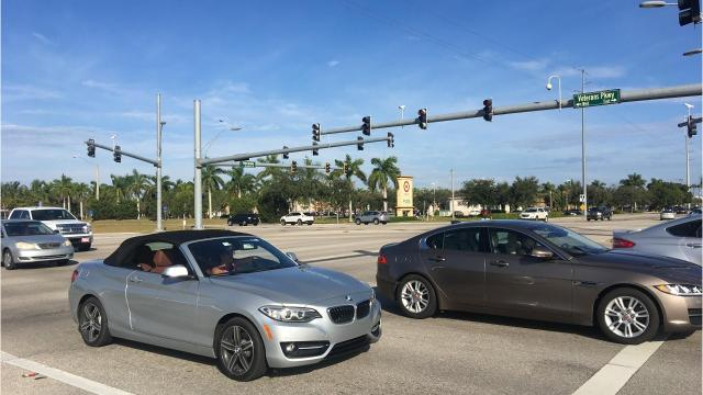 In 2017, six intersections in Cape Coral had 26 or more car crashes. Here's a look at the top five (two were tied with 30 crashes each).