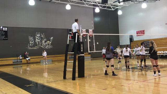 The top senior volleyball players that make up the Lee County Athletic Conference gathered for a final contest between the North and South on Thursday night.