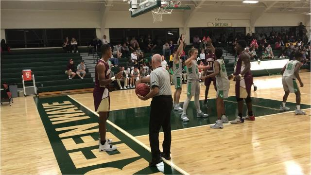 Keyshawn Rowe's free throw with 1.7 seconds left in overtime was the difference as the Raiders took a 51-50 victory over the Green Wave to remain unbeaten in 2018.