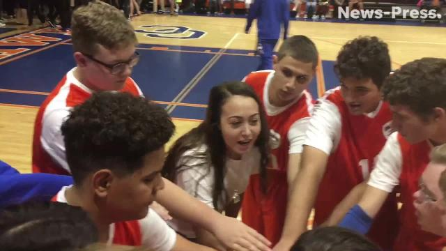Cape Coral and Mariner play one of the first Unified Special Olympics basketball games in the program new to Lee County schools. The rewards are incalculable - for those with and without disabilities.
