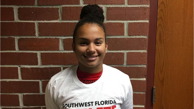 At the Cowgirl Invite on Friday, McClain set a LaBelle High record with a clean and jerk of 170 pounds on her way to winning the 169-pound weight class. She also holds the school record in the bench press (175 pounds) and combined lift (345 pounds).