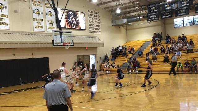 Led by seniors Claire Woolam and Charlotte Terry, the Viking girls cruised to a 62-17 win over CSN to run their record to 9-0 on the season.