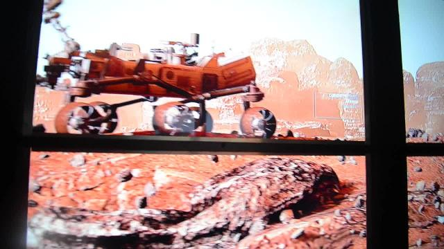 Lockheed Martin Mars Experience bus at KSC