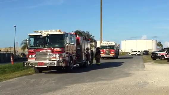 Video: Fire at SpaceX building in Cape Canaveral