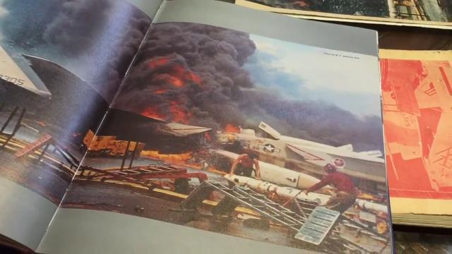 USS Forrestal Fire 50 years later