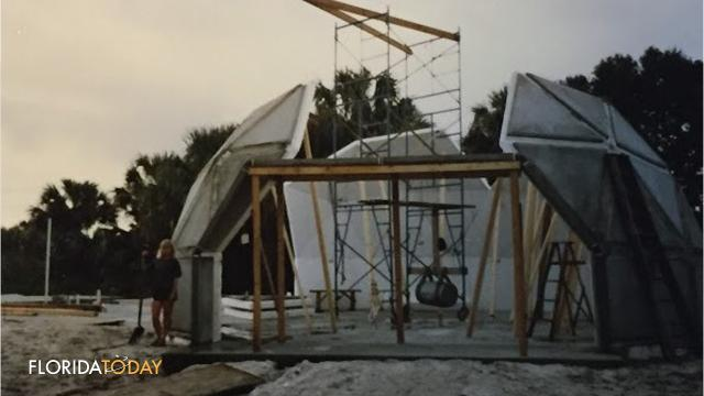 Peek Inside This Geodesic Dome House For Sale In Canaveral Groves